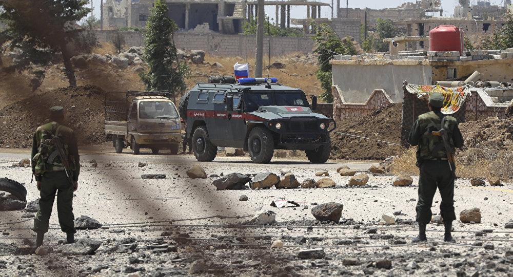 Polizia militare russa in Siria