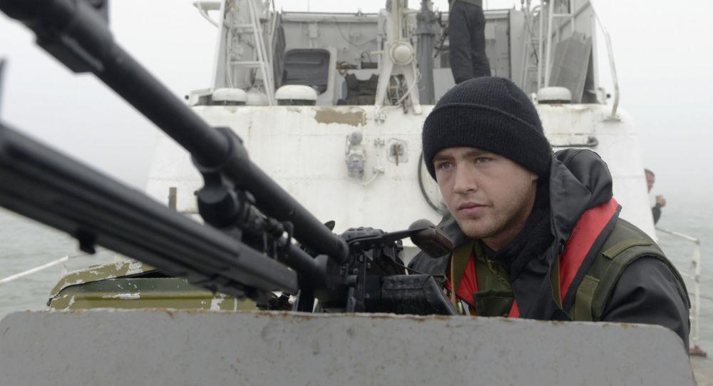 Mar d'Azov, la guardia costiera ucraina