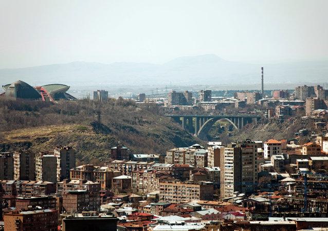 Yerevan, capitale dell'Armenia