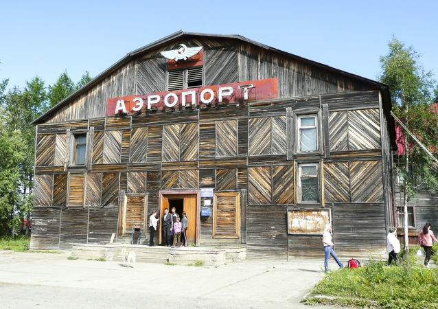Aeroporto di Turukansk - regione di Krasnoyarsk