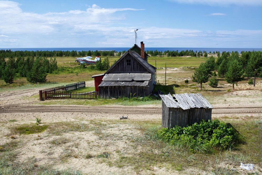 Aeroporto del villaggio Verhnyaya Zolotiza - regione di Arkangelsk