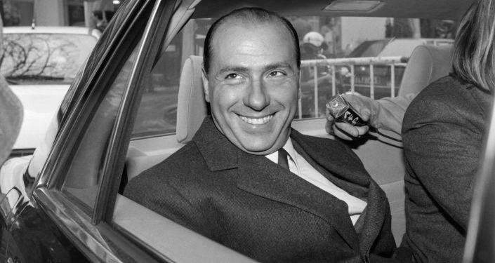 Il tycoon televisivo Silvio Berlusconi, 1985