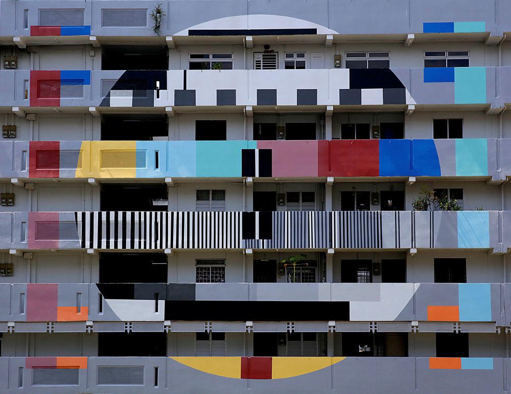 Un condominio a Singapore.