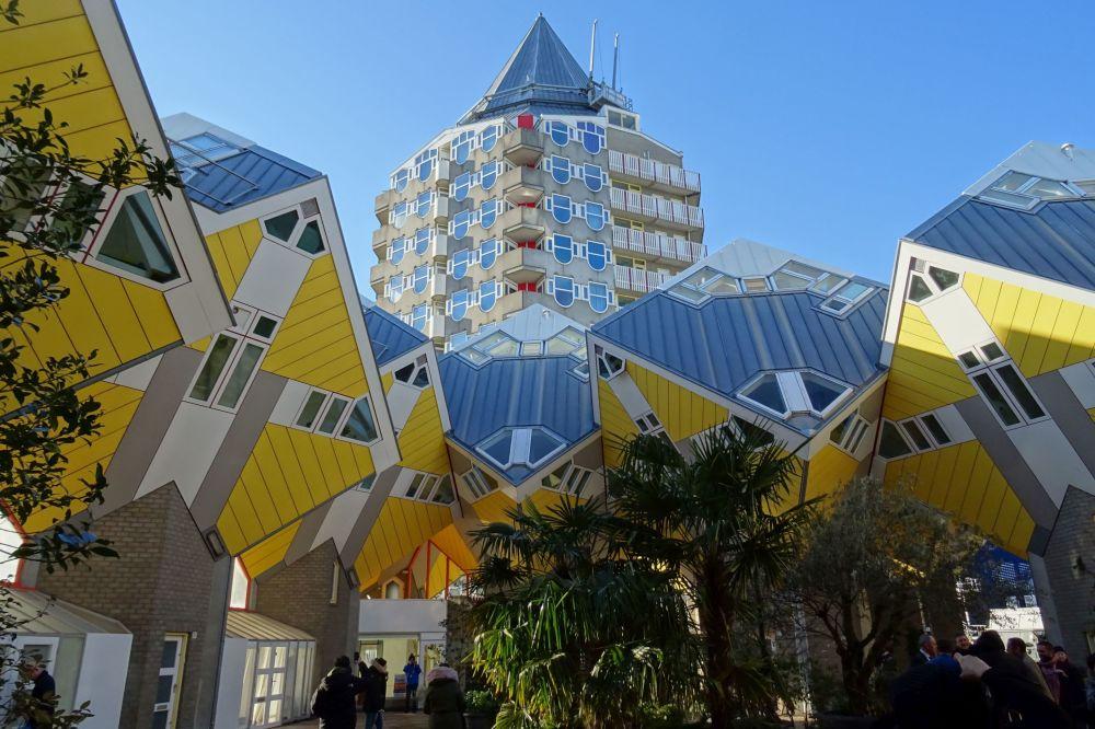 Complesso residenziale delle case-cubo di Rotterdam e Helmond