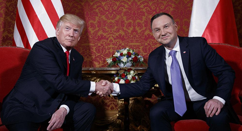 Andrey Duda e Donald Trump