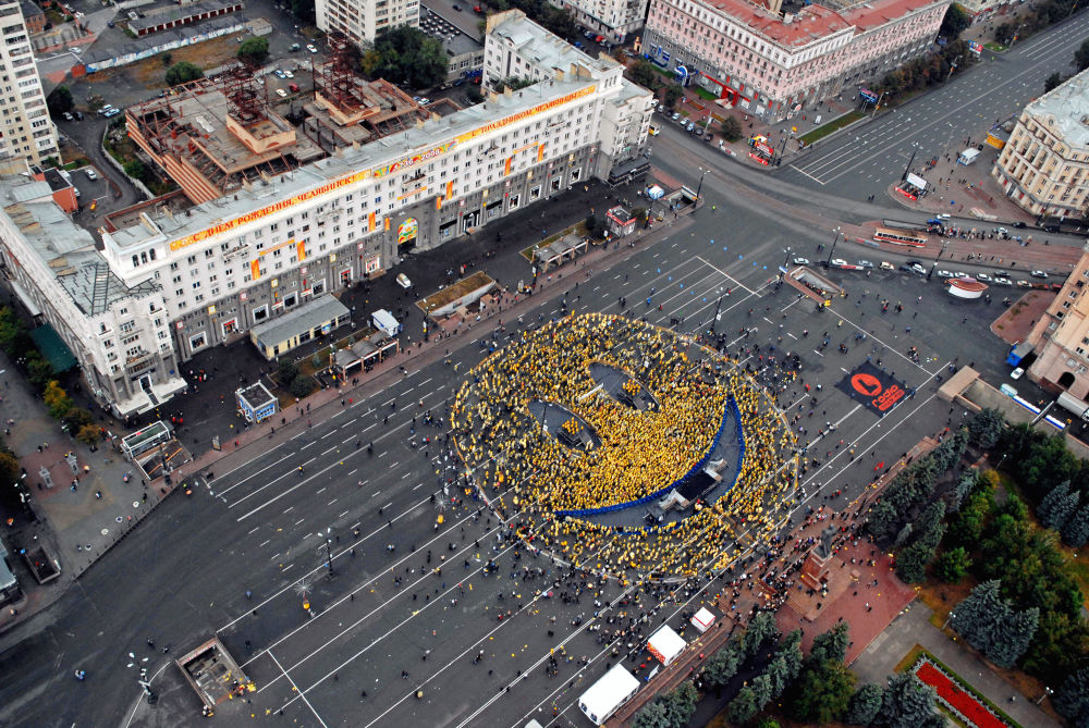 Manifestazione Chelyabinsk sorride al mondo a Chelyabinsk