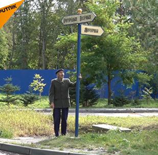 Un pensionato ottantenne  ha costruito da solo una strada di 200 metri