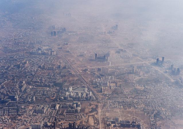 Smog a New Delhi