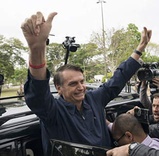 Jair Bolsonaro, candidato presidenziale brasiliano