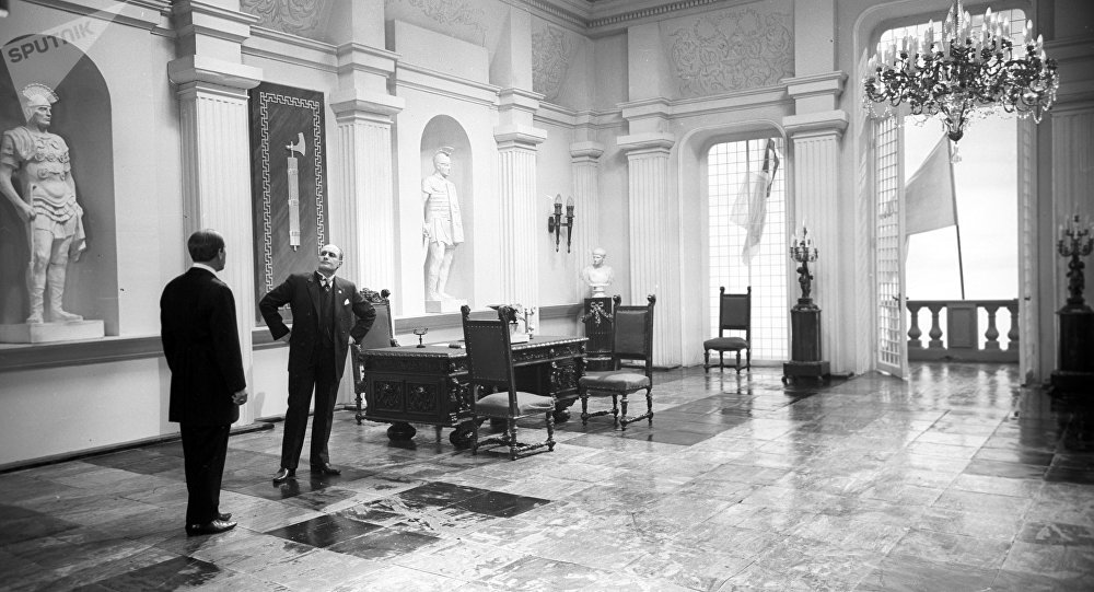 Discorso Camera Mussolini : Mussolini fi il discorso di mattarella è un ricatto
