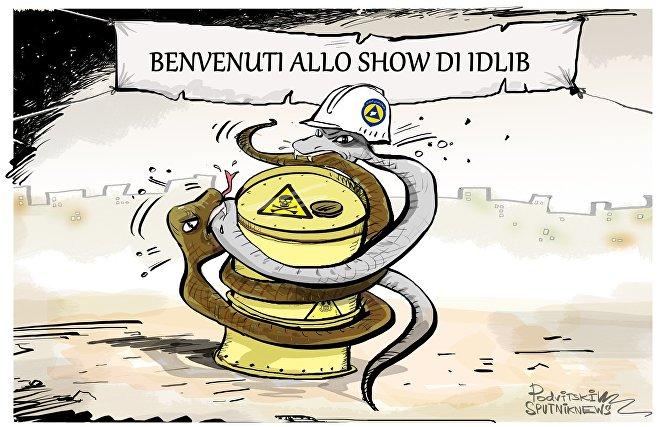 Allo show di Idlib