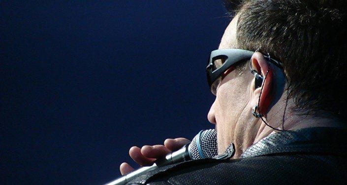 Bono Vox, leader del gruppo U2