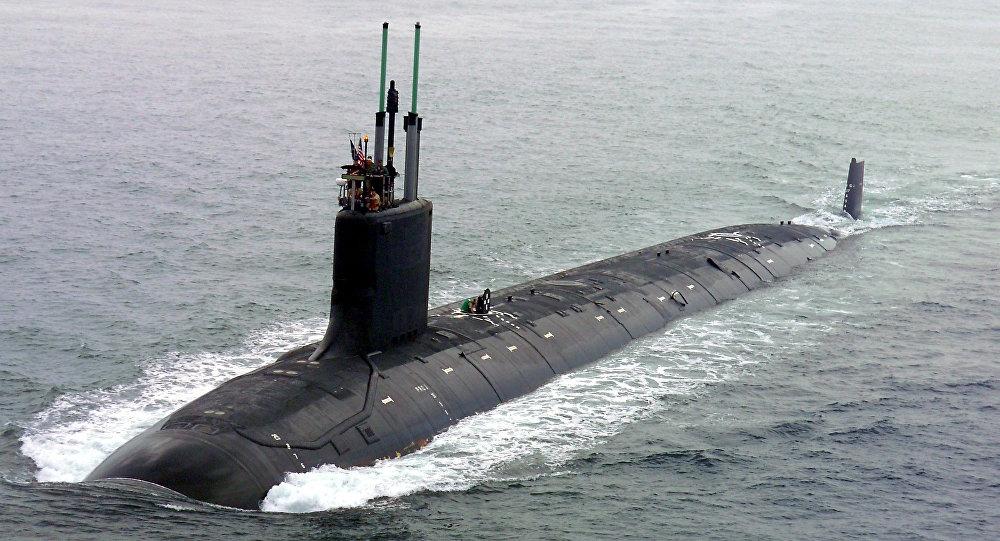 Sottomarino Usa SSN 774 USS Virginia