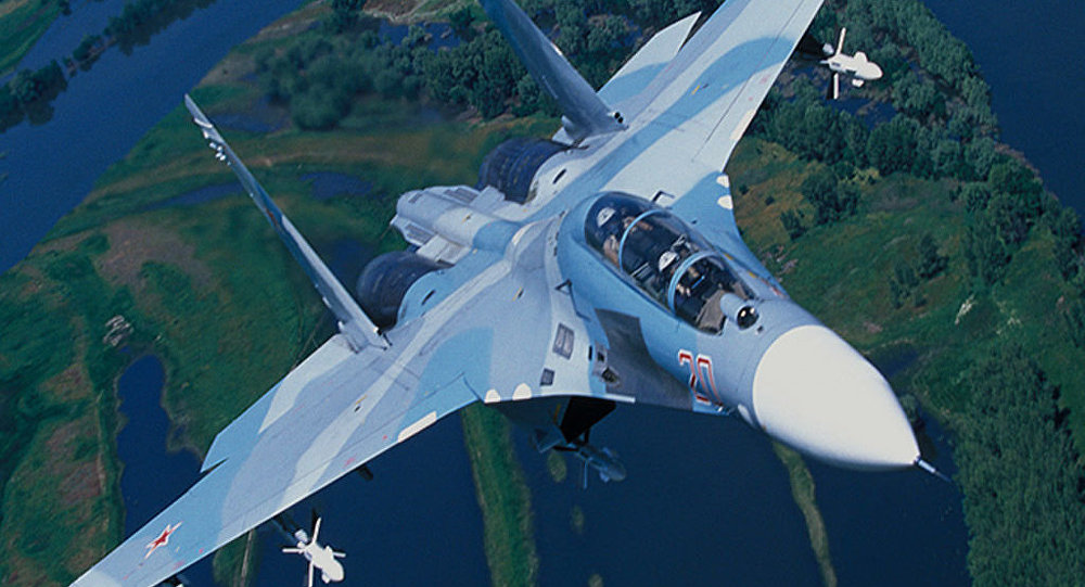 Russia's Su-27, designed as a counterweight to the F-15.