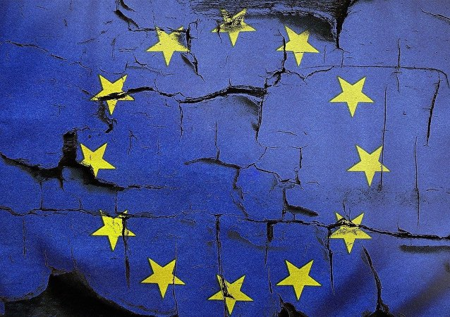 Bandiera europea - figura metaforica