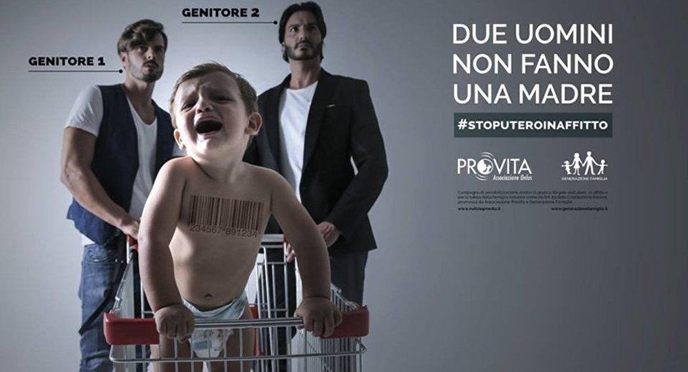 Manifesto Stop utero in affitto