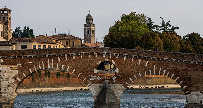 Il Ponte Pietra a Verona