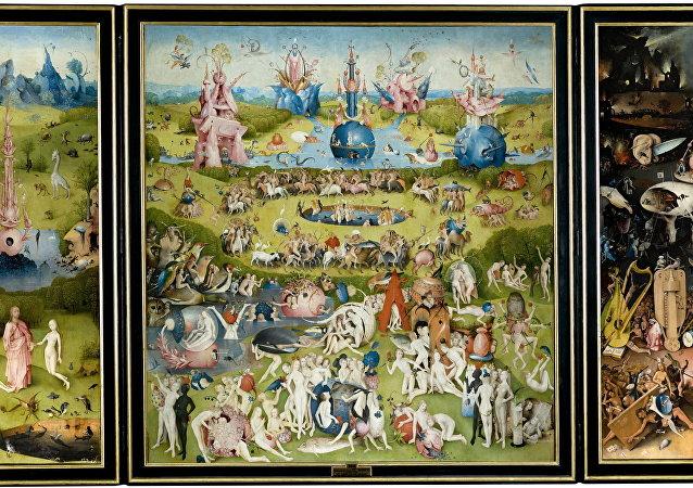 Il giardino delle delizie - Hieronymus Bosch