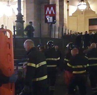 Thirty fans of CSKA Moscow football club were injured in an escalator collapse in Rome Metro