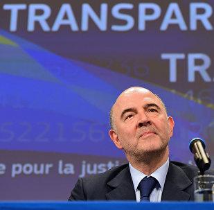 Pierre Moscovici, Commissario Europeo per l'Economia e Finanza