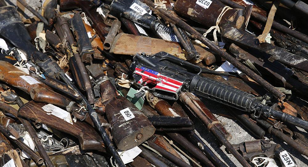 Armi sequestrate in Brasile