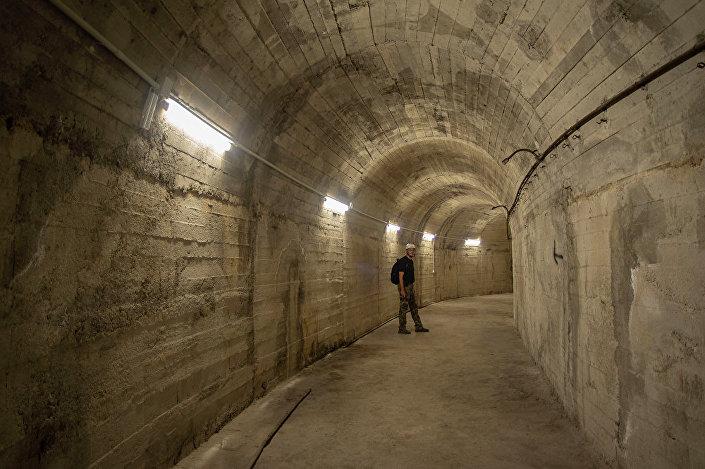 Uomo nel bunker di Atene