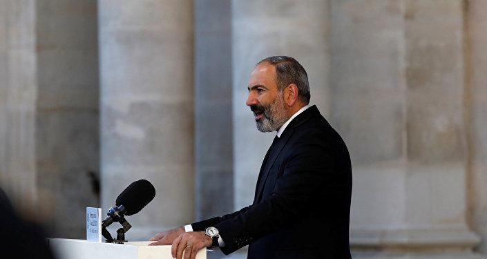 Nikol Pashinián, primo ministro dell'Armenia