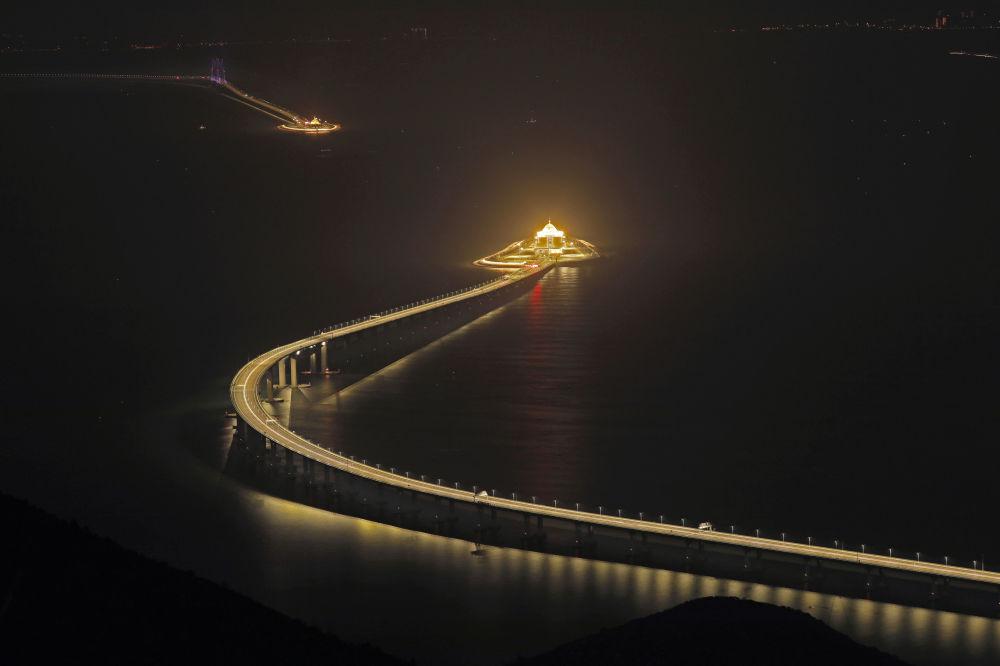 Il ponte Hong Kong–Zhuhai–Macao.