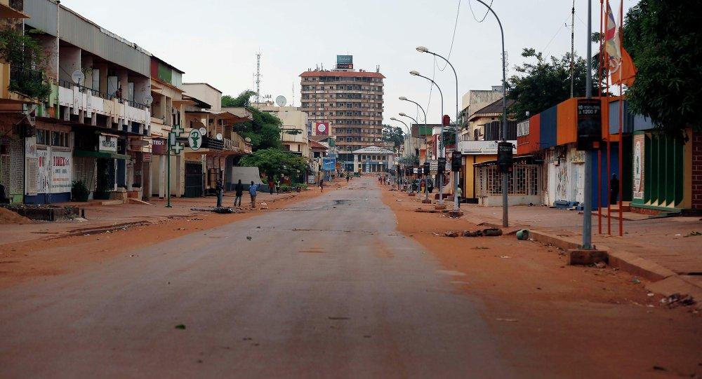 Bangui, la capitale della Repubblica Centrafricana