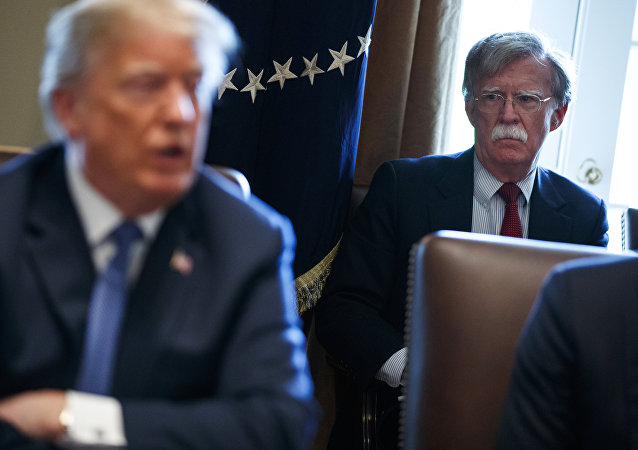 Donald Trump e John Bolton