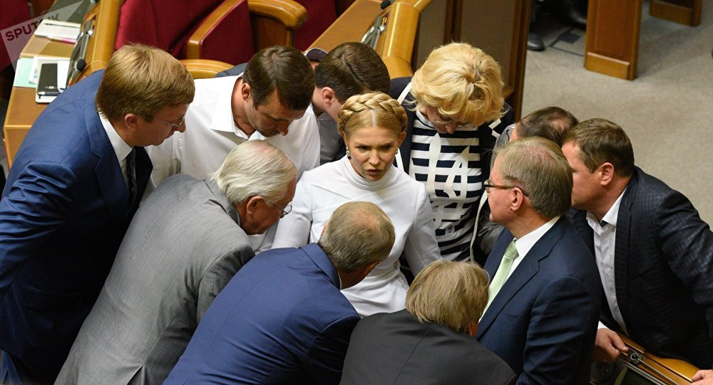 Yulia Tymoshenko (foto d'archivio)