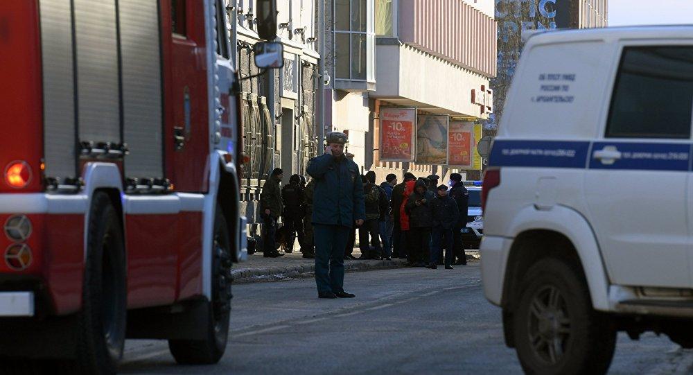 Dopo l'esplosione alla sede FSB di Arkhangelsk