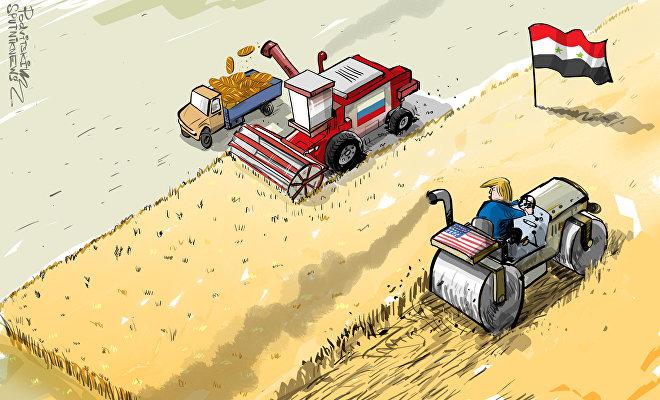 Siria diventerà il hub più grande del grano russo nel Medio Oriente