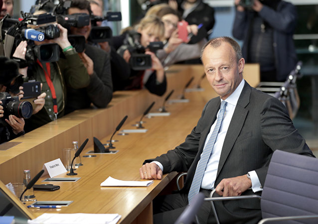 Friedrich Merz, membro della partita tedesta CDP