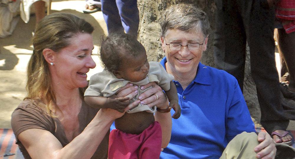 Bill Gates e Melinda Gates
