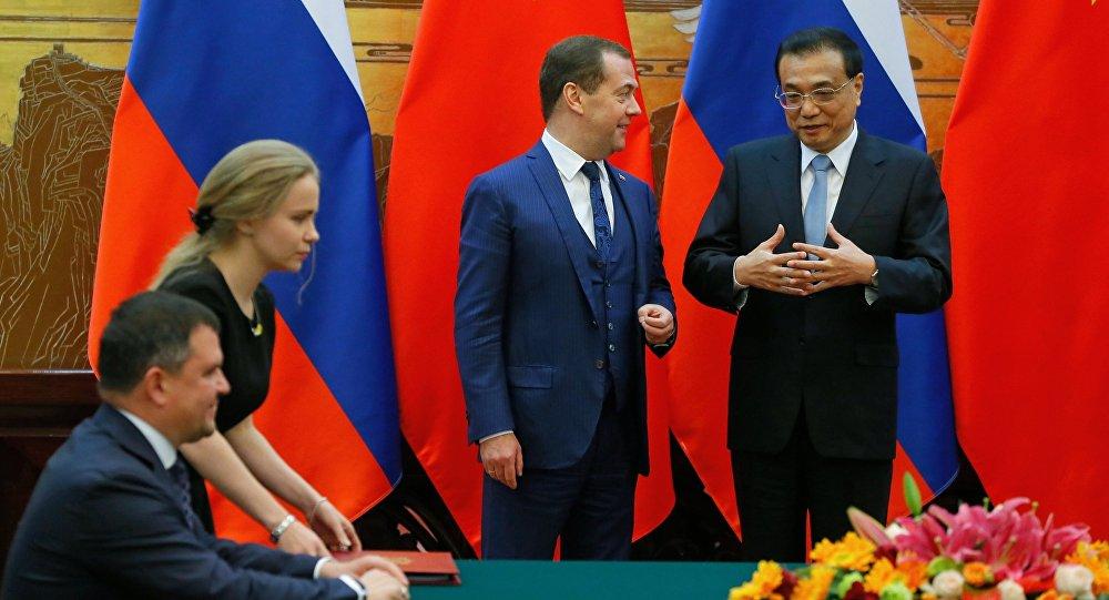 Il 23° incontro dei capi di governo di Russia e Cina, Dmitry Medvedev e Li Keqiang