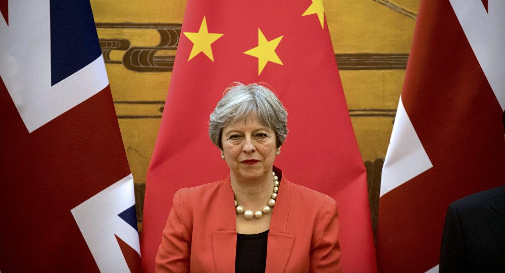 Theresa May in Cina