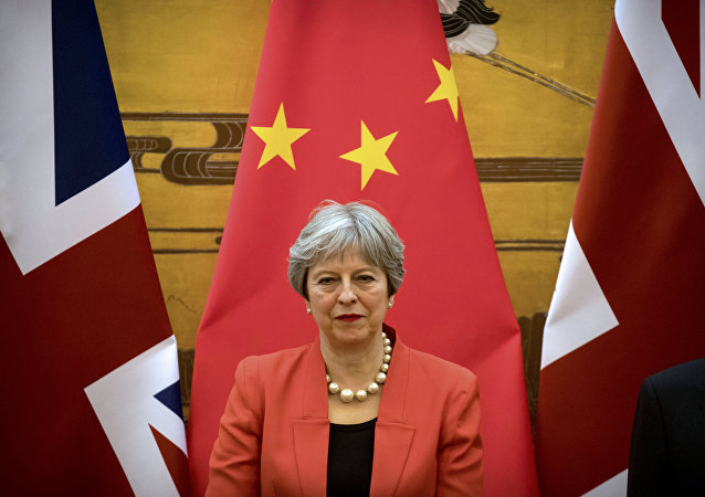 Theresa May in Cina
