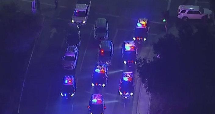 Schermata da un video girato a Thousand Oaks dove si è verificata una maxi sparatoria che ha provocato almeno 12 vittime