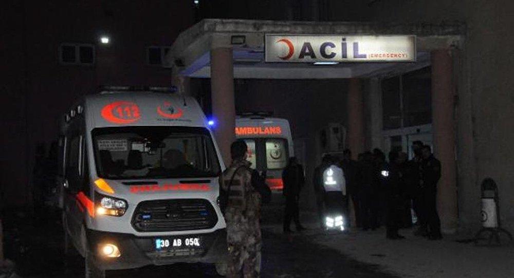 Ambulanza in Turchia