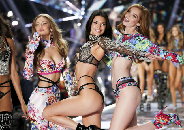 Il fashion show annuale Victoria's Secret, New York.