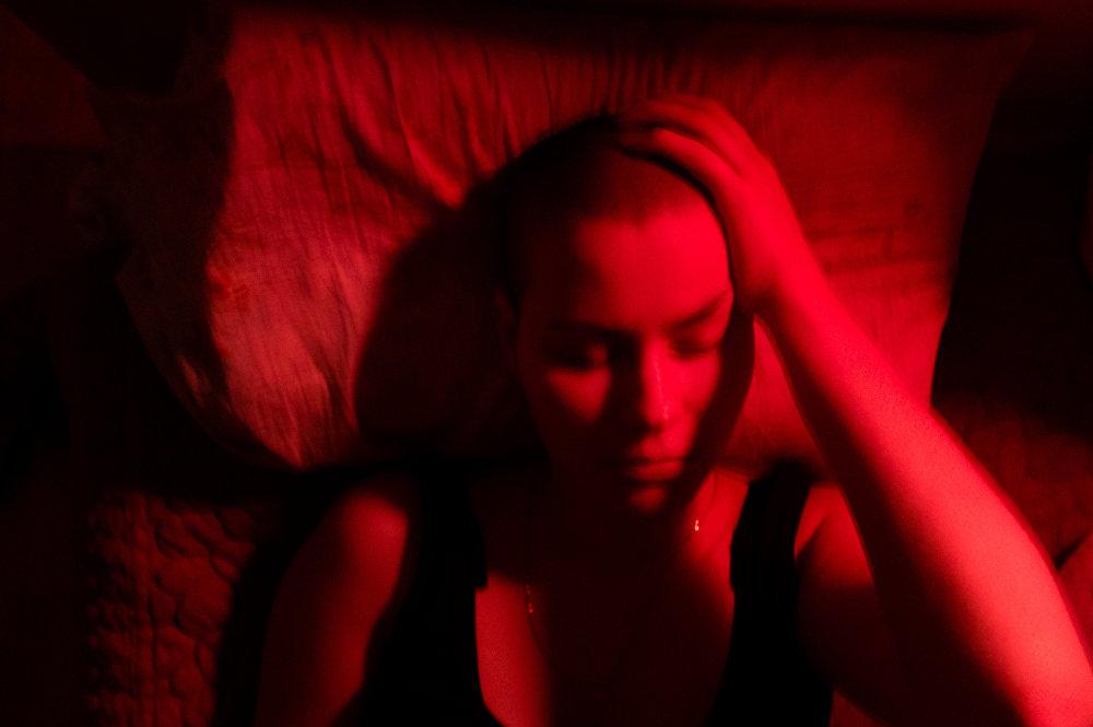 Una delle fotografie della serie, Come sono stata malata con cui Alyona Kochetkova ha vinto il Gran Prix del fotoconcorso Stenin