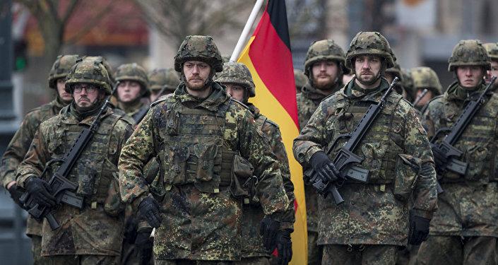 Soldati tedeschi (foto d'archivio)