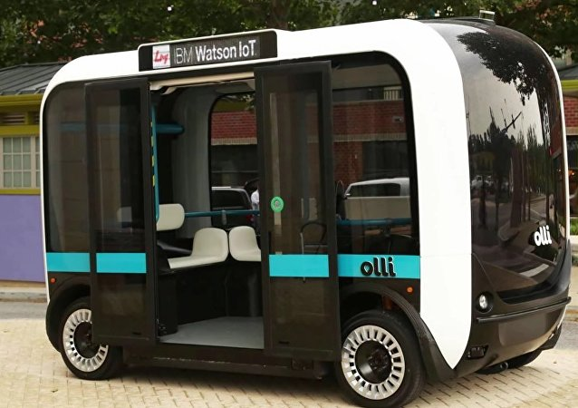 Veicolo a guida autonoma IBM