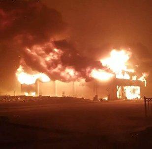 Il Camp Fire nella California