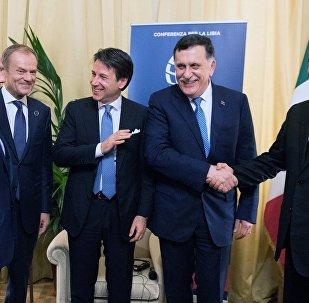 Alla conferenza di Palermo per la Libia