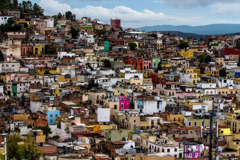 Una veduta della città di Zacatecas, Messico. Felipe VI e Letizia di Spagna l'hanno visitata durante il loro primo viaggio nelle Americhe.
