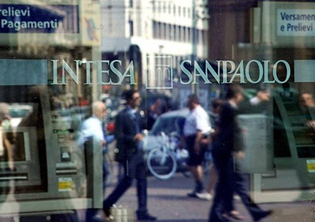 Italienische Bankengruppe Intesa Sanpaolo