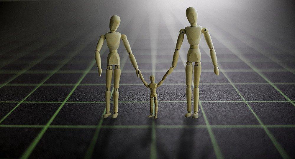 Famiglia astratta - figura metaforica