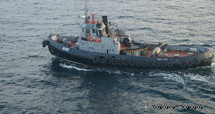 Tre navi della Marina ucraina hanno attraversato il confine russo